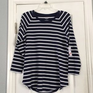 Long sleeve striped old navy shirt